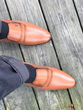 Plain Toe Loafers