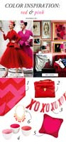 Color Inspiration: Red & Pink