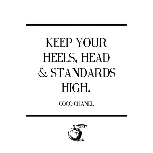 Thoughts to Live By: Coco Chanel