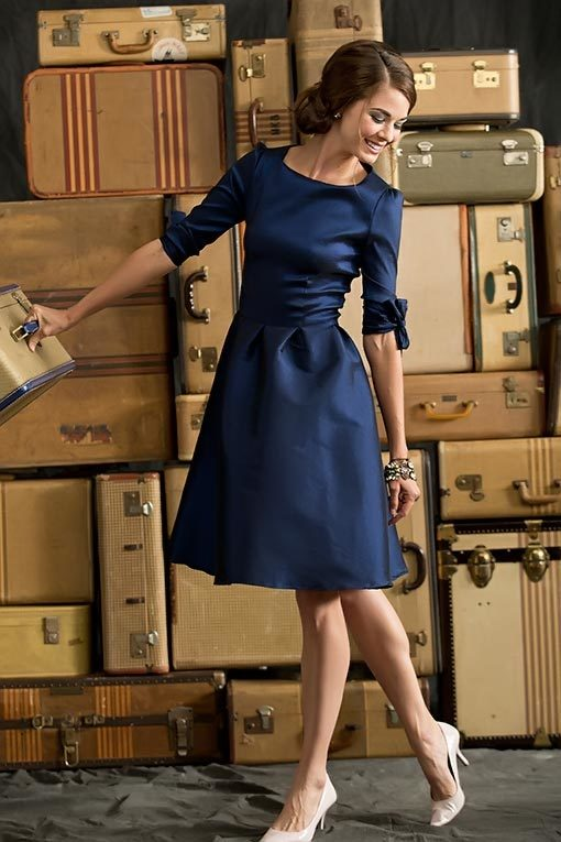 Nutcracker Dress Navy