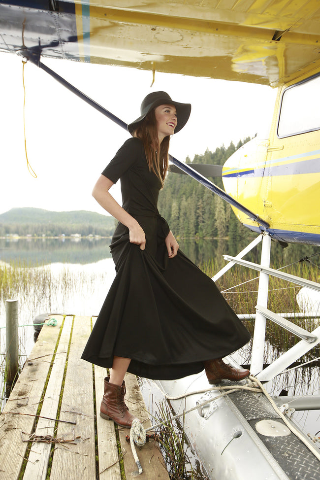 River Glade Dress Black