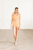 Tangerine Crush Bottoms Swimsuit