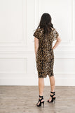 Leopard Ruffel Dress