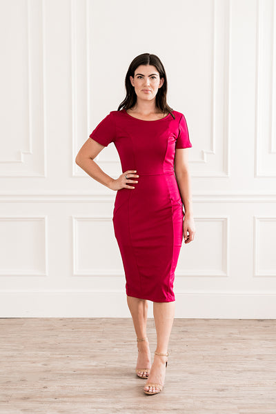 Fuchsia Mod Dress