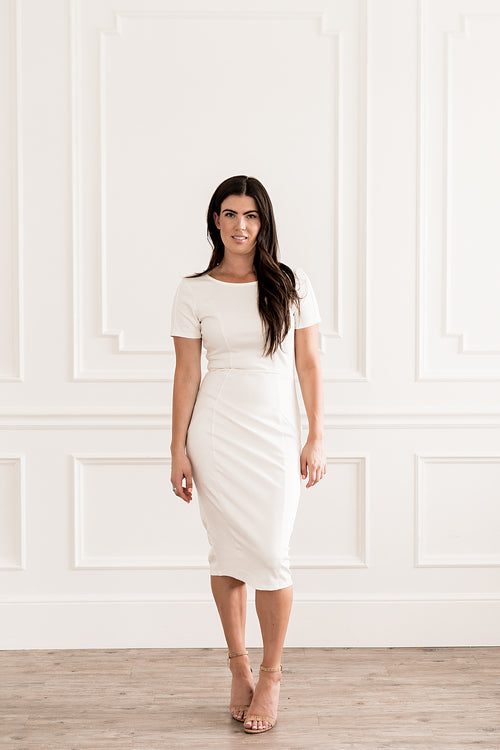 White Mod Dress