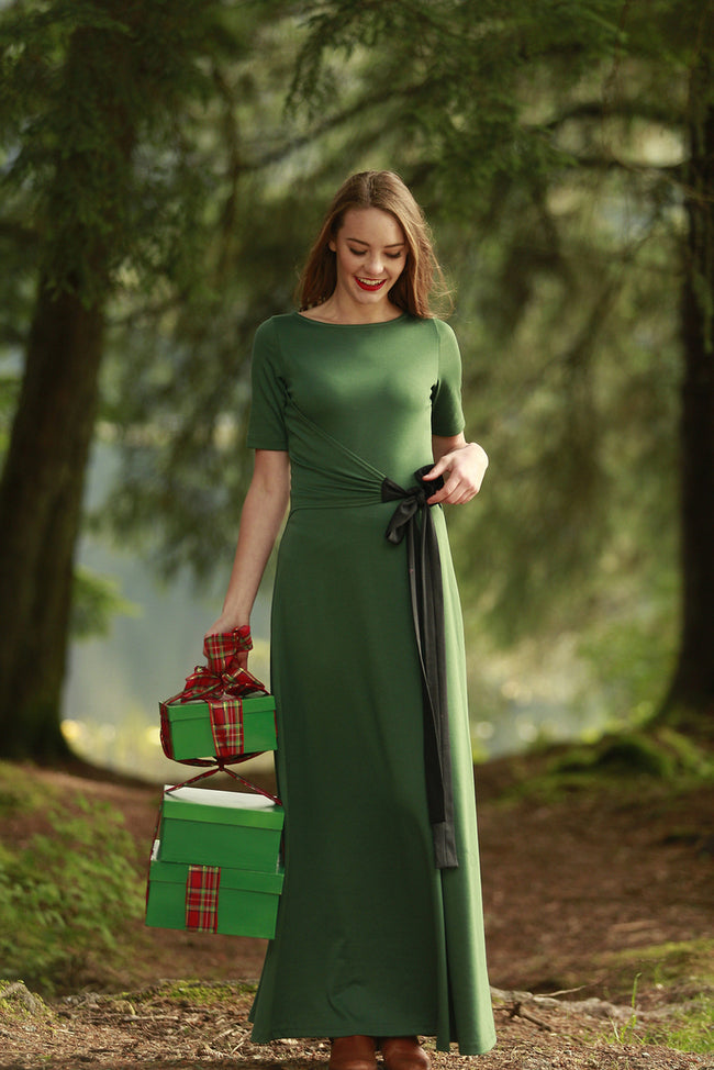 River Glade Dress Green