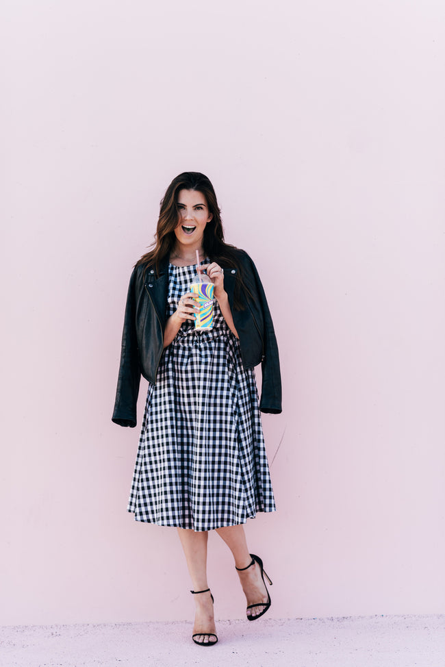 Tarzan Gingham Dress