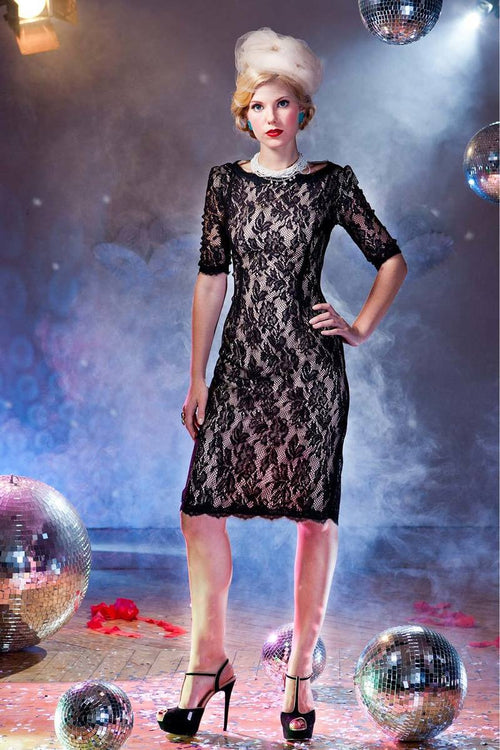 With This Ring Sheath Dress Black