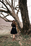 Melody Black Dress