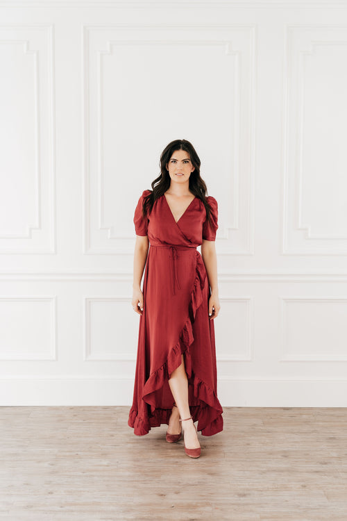 Sophia Wrap Dress