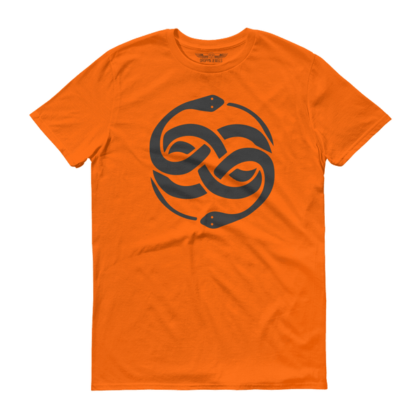 Infinite Men's Tshirt Orange