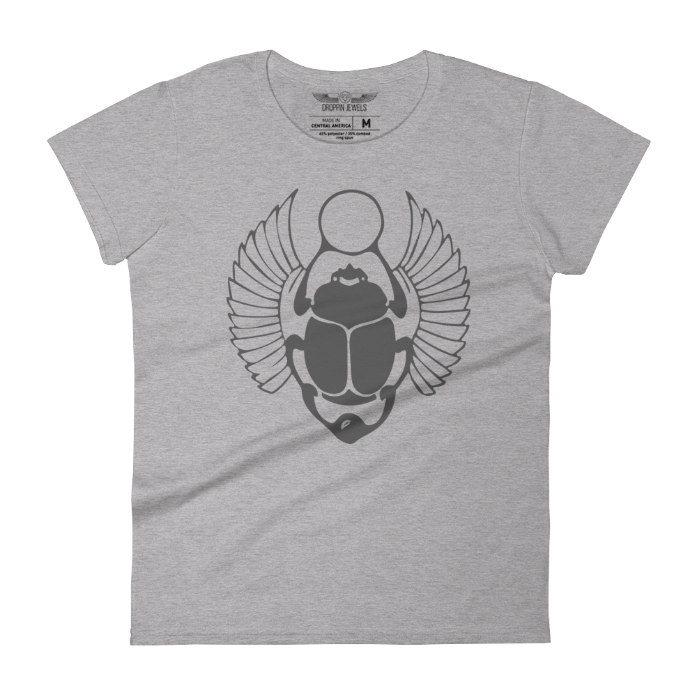Khepre Women's Heather Grey Tshirt