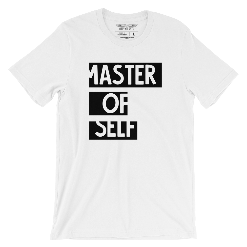 Master of Self Unisex Tshirt
