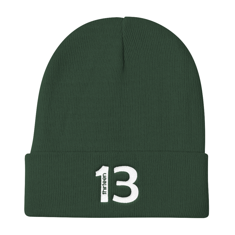 Lucky Thirteen Knit Beanie
