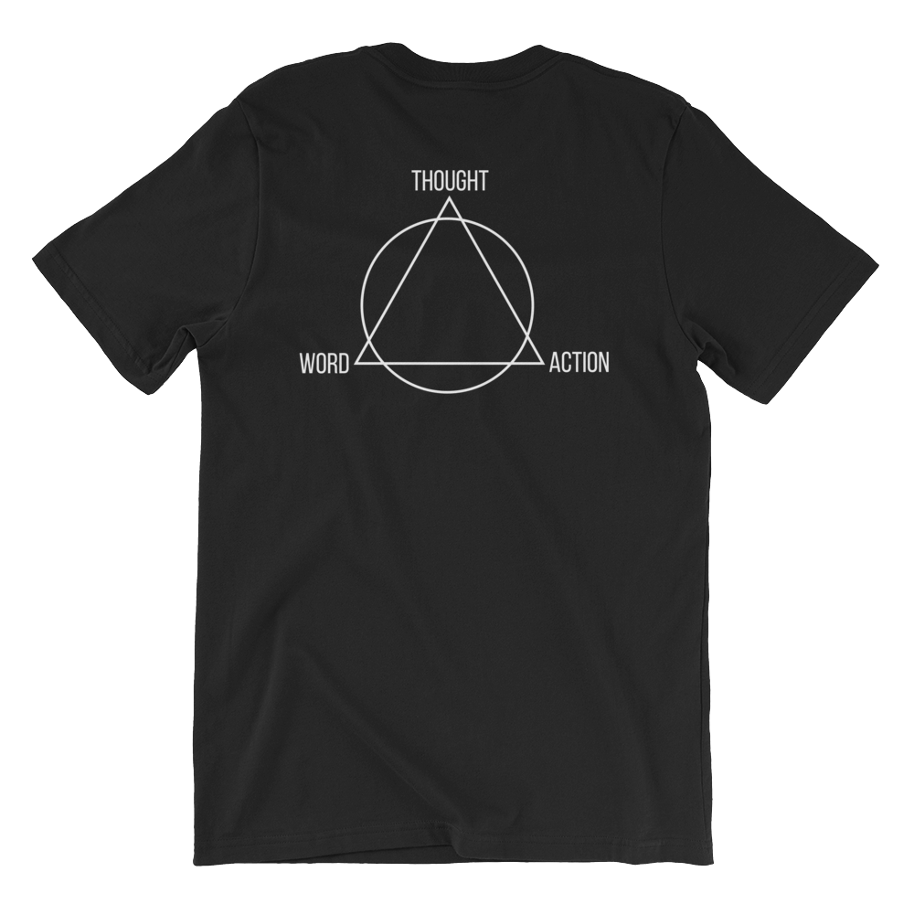 TH3 (The Holy Trinity) Unisex Tee Black