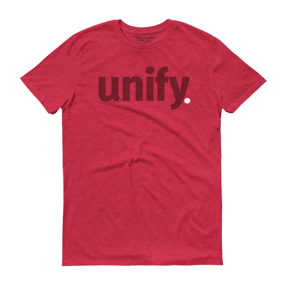 Unify Men's Tshirt Heather Red