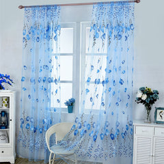 1M-2M Tulle Window Curtains for Bedroom Living Room Balcony Kitchen