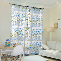 Tulle Window Curtains For Bedroom Living Room
