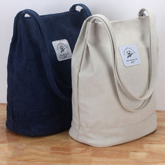 Women's Casual Cotton Canvas Shoulder Bag