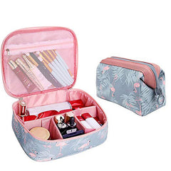 Women's Travel Waterproof Portable Cosmetic Bag Organizer Makeup Bag