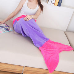 Warm and Soft Mermaid blanket tail Covers