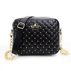 Women's Fashion Mini Shoulder Bag Handbag With Crown