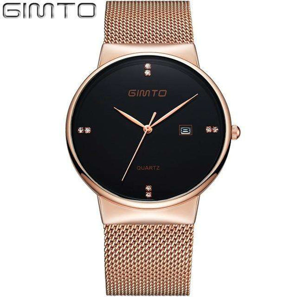 Luxury Fashion Ladies Watches Rose Gold