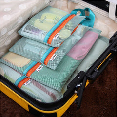 4Pc Portable Travel Storage Bag Set