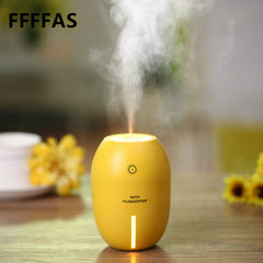 Portable Lemon LED Light Air Purifier USB Air Humidifier Mist Sprayer Maker