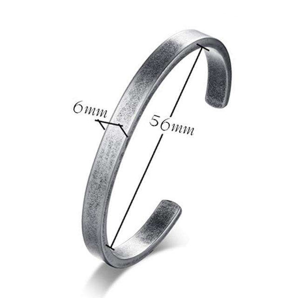 New Fashion Unisex Multi Size Vintage Viking Cuff Stainless Steel Bracelet & Bangle Pulseras Hombre Classic Unisex Jewelry