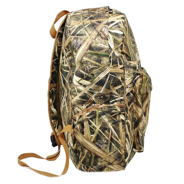 Unisex Outdoor Soft Bionic Reed Camouflage Hunting Backpack