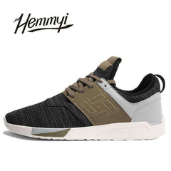 New Men's Breathable Wear-resistant Light mesh Sneakers Shoes