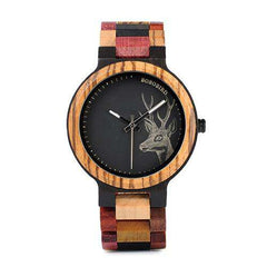 Unisex Quartz Wooden Watch in Wood Box relogio masculino Great Gift for Lover