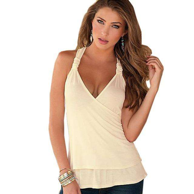 495caaf57 New Fashion Ladies Sexy Crochet Tank top Hollow-out Lace Tops Back Vest  Camisole Lace