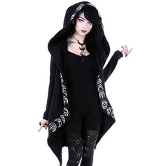 Women's Gothic Casual Punk Hoodies