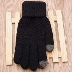 New fashion autumn/winter warm cashmere knitted gloves for men women