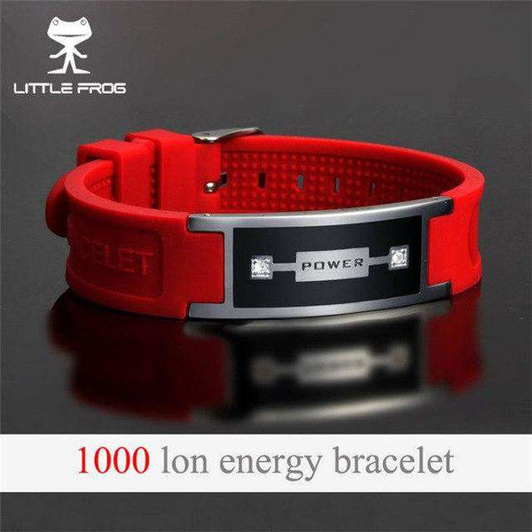 Men's Multicolor Health Magnetic Power Energy Stainless Steel Bracelets Jewelry