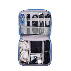 Portable Travel Cable Bag Digital USB Gadget Organizer