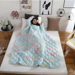 Winter Lazy Bedding Comforter with Sleeves