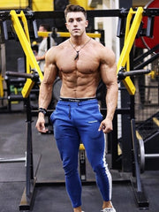 High Quality Men's Gyms Cotton Pencil Pants Bodybuilding Jogger Pants