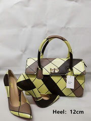 High Heel Shoes With Matching Bag