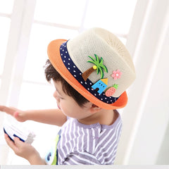 Boys Girls Beach Caps Kids Photography Accessories