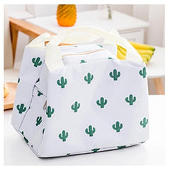 Portable Functional Thermal Pattern Cooler Lunch Box Back to School