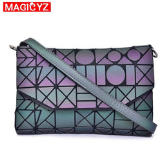 Women's Laser Luminous Geometric Crossbody Bag