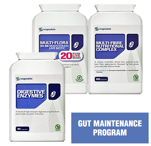 ncapsulate® Premium Health Supplements - Featured Product Gut Maintenance Program