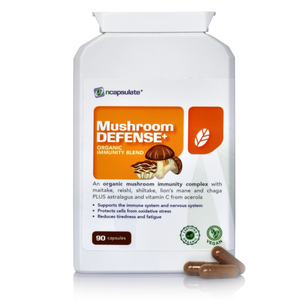 MUSHROOM DEFENSE+ | Organic Adaptogen-based Immunity Complex