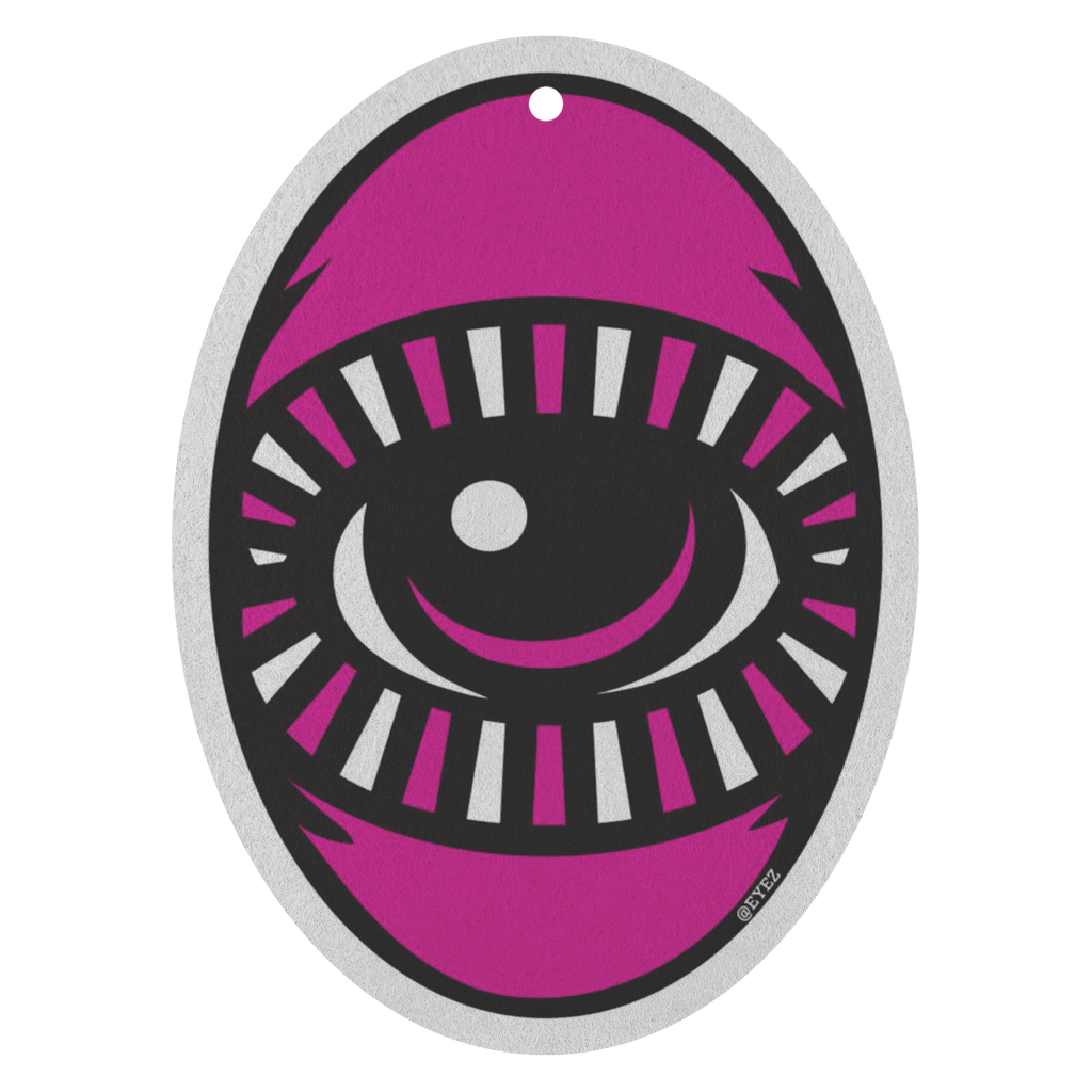 Magenta EYEZ for your Nose - Air Freshener 3 Pack