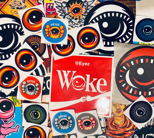 EYEZ sticker Pack