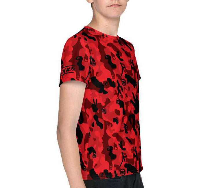 EYEZ PEACEFUL CAMO Youth T-Shirt