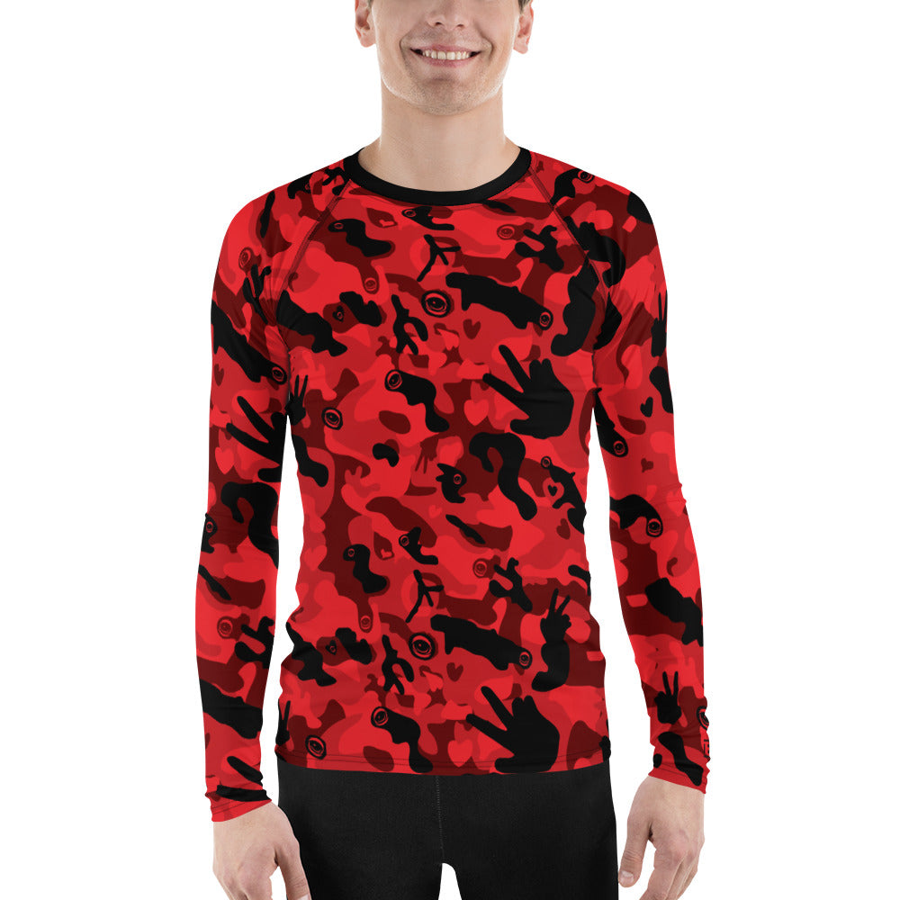 Peaceful Camo - EYEZleisure Long Sleeve Shirt